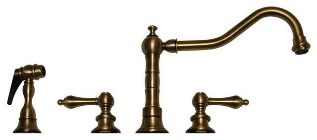 Whitehaus Collection Vintage Iii Widespread Faucet Lever