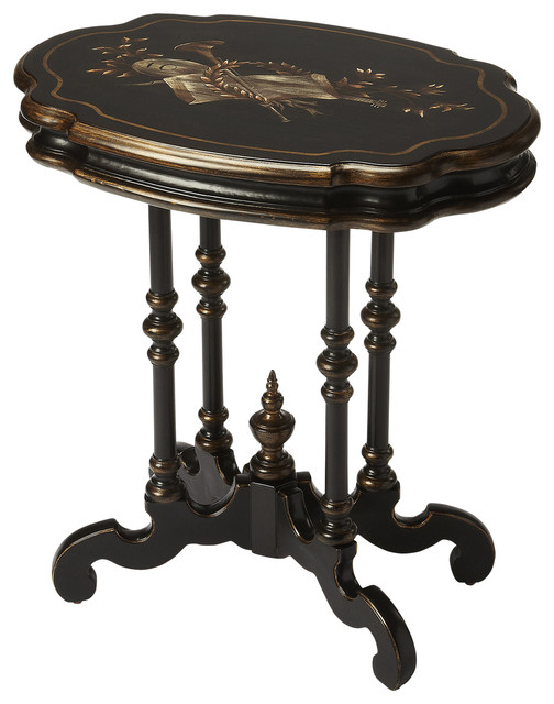 Butler Castle Contessa End Table Traditional Side