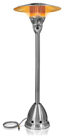 Garden Radiance Natural Gas Stainless Steel Outdoor Patio Heater, Chrome