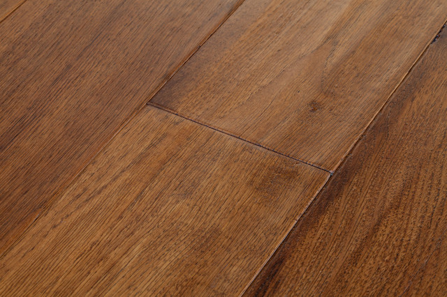 Ed Bauer Wide Plank Hickory Flooring