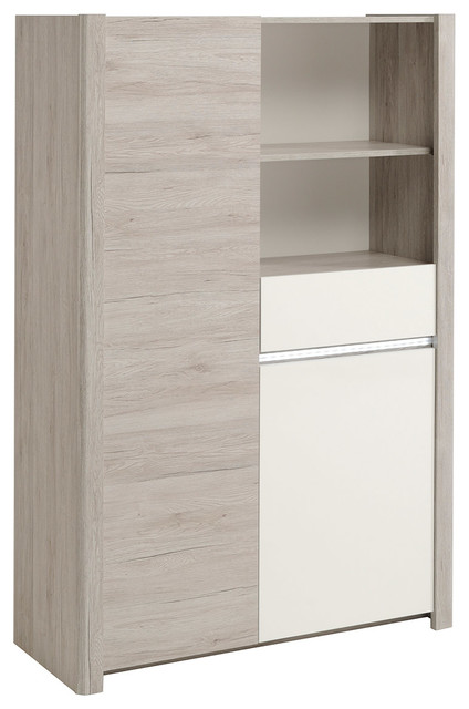 Luneo Dishes Cabinet With Led.