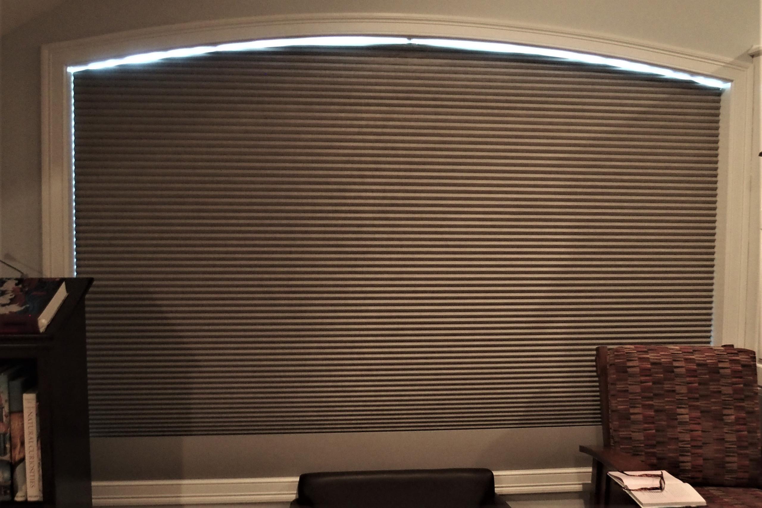 Working shades for palladium windows