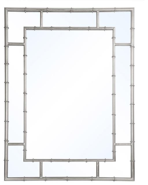 Garrett Wall Mirrors, Silver.