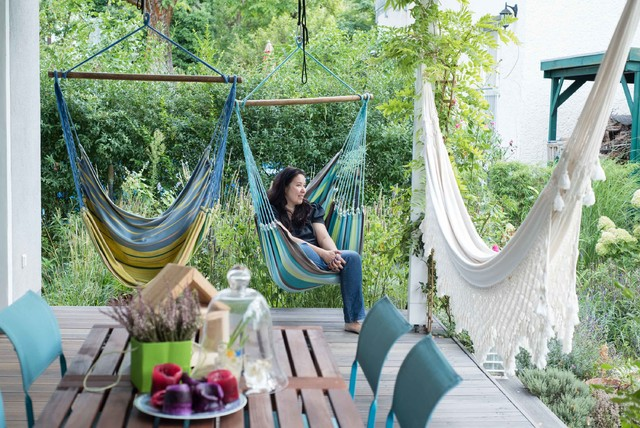 How to Turn Your Deck or Patio Into a Comfy Getaway