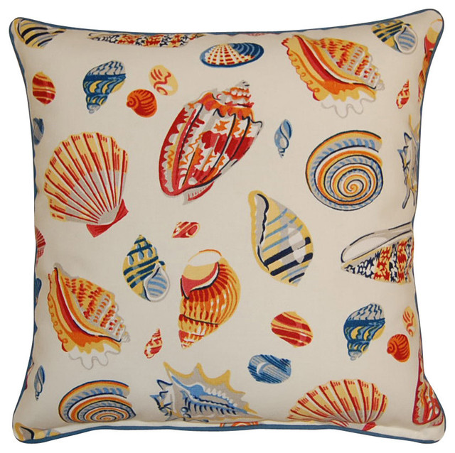 Low Tide Knife Edge Pillow Multicolor Beach Style Decorative Beauteous Multicolored Decorative Pillows