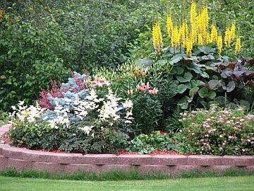 Residentail perennial gardens