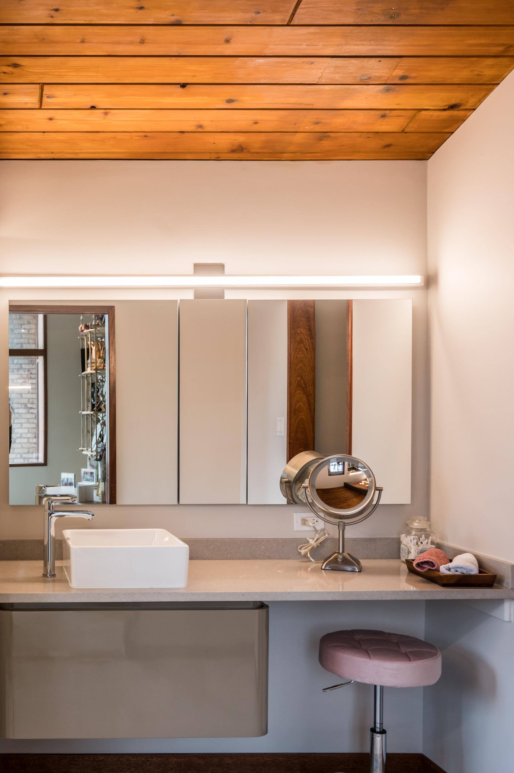 Potomac, MD Craftsman Cantilevered Master Bedroom Addition