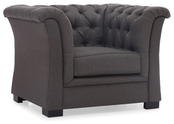 Zuo Home Living Room Nob Hill Arm Chair Transitional
