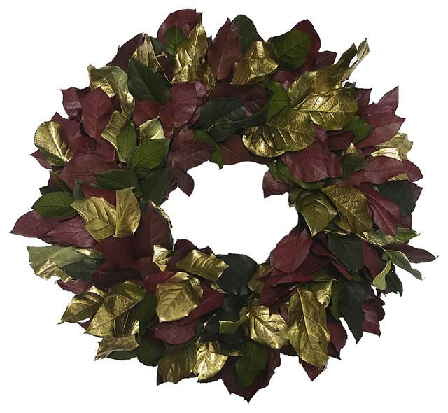 """Medici Wreath, 22""""."""
