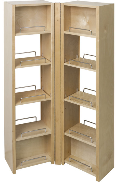 Pantry Swing Out Cabinet 12''x8''x45-5/8 PSO45 - Contemporary ...