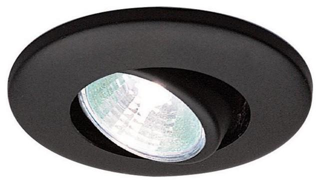 WAC Lighting HR-837-WT Recessed Low Voltage Trim Mini Round  Adjustment