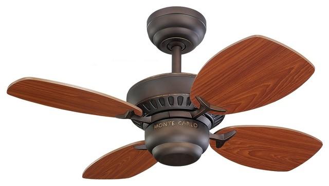 """Colony Ii 28"""" Ceiling Fan, Roman Bronze"""