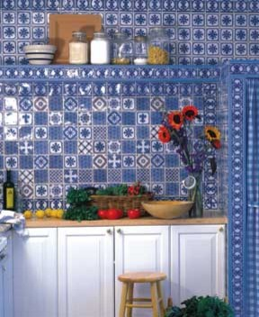 Giverny traditional kitchen
