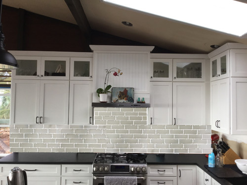 3x9 Subway Tile Backsplash