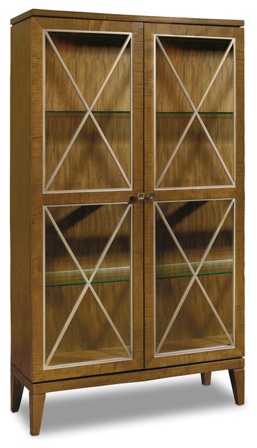 Retropolitan Display Cabinet - Transitional - China Cabinets And Hutches - by Hooker Furniture