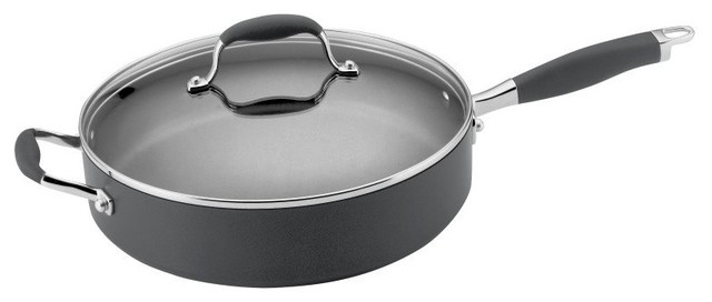 Anolon Advanced Nonstick Saute Pan, Gray.