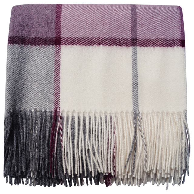 Baby Alpaca Throw Blanket Horizon No Synthetics Rustic Throws By Blankets Corporation