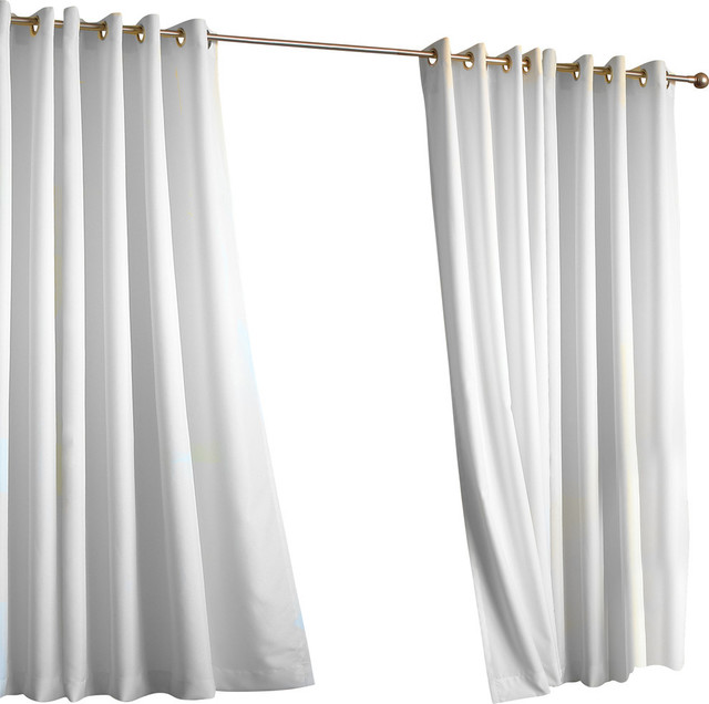 Http Www Houzz Com Photos 42087746 Della Outdoor Curtains White Single Panel Transitional Curtains