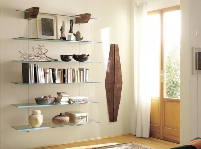 Nuvola Glass Shelves by Cattelan Italia - Modern - Living Room - New ...