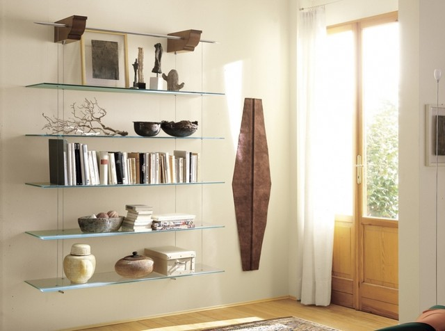 Nuvola Glass Shelves By Cattelan Italia Modern Living