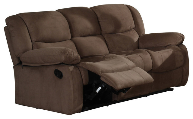 Brooklyn Sofa, Chocolate Microfiber