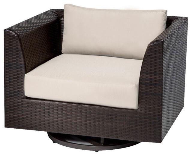 Superbe Barbados Swivel Chair, Aruba
