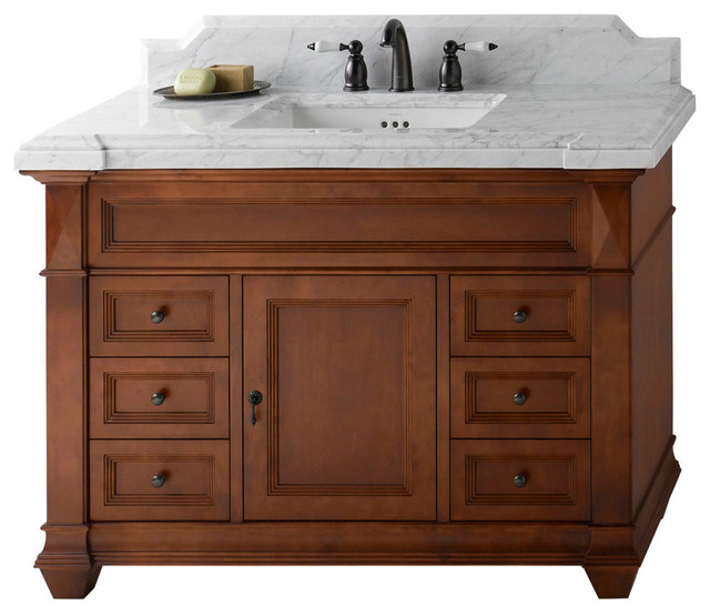 Ronbow Torino Solid Wood 48 Vanity Set With Ceramic Sink