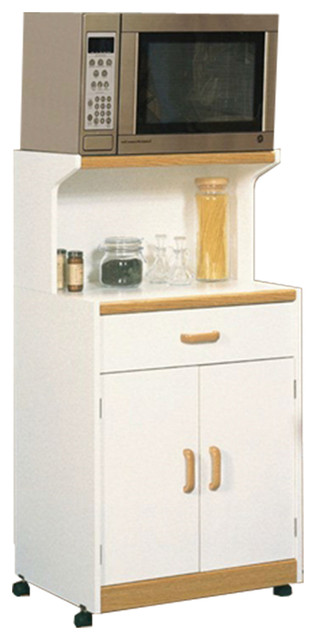 Amazing White Microwave Cart With Natural Wood Transitional Kitchen Islands And Kitchen Carts By Imtinanz Llc