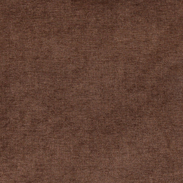 Chocolate Brown Solid Woven Velvet Upholstery Fabric By The Yard