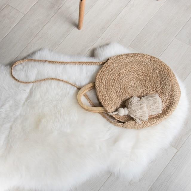 Sheepskin Rug Genuine New Zealand, White, 2x3ft