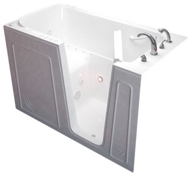 32 X 60 Meditub Walk In Ada Compliant Bathtub Contemporary Ba