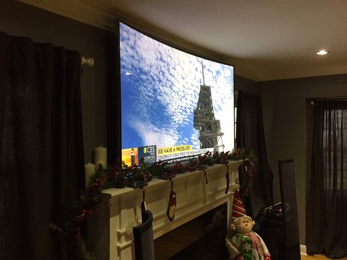 Samsung 78 Curved Tv Wall Mounted