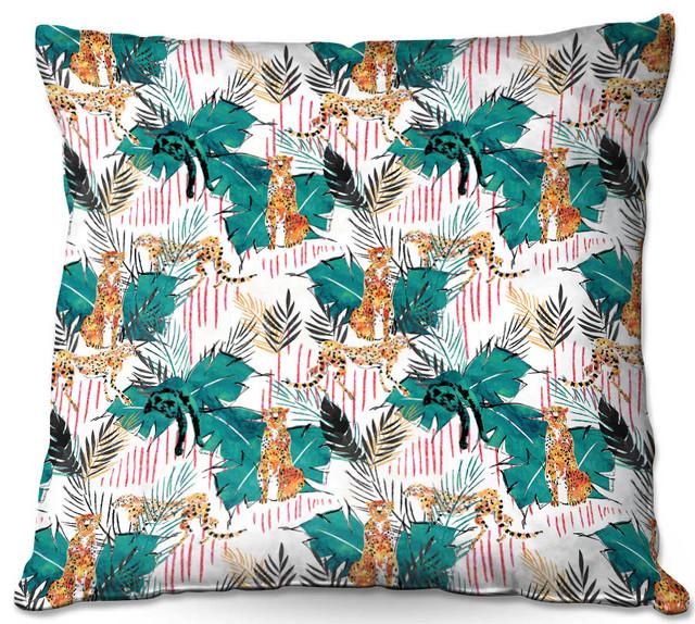 Cynthia Rowley Fringe Pillows: DiaNoche Throw Pillows By Zara Martina, Hunters