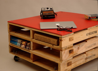 RAW Pallet Furniture eclectic-coffee-tables