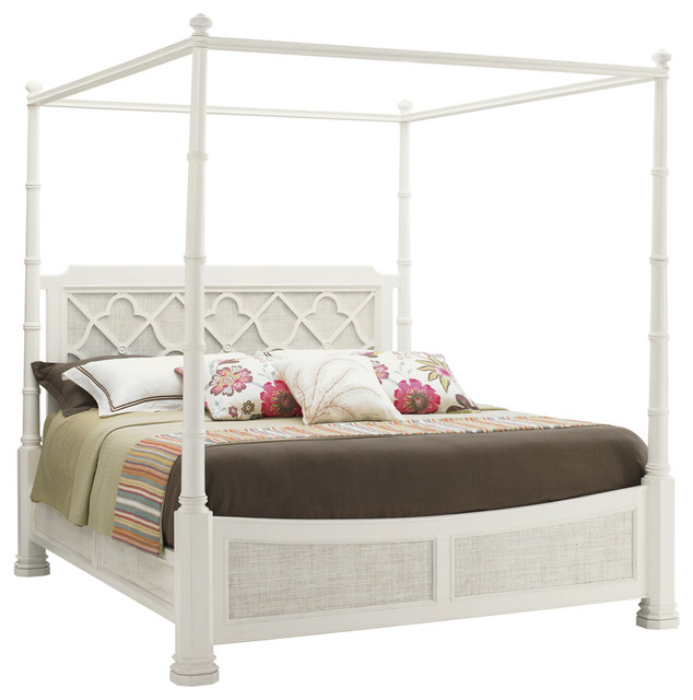 Lexington Ivory Key Southampton Poster Bed Queen