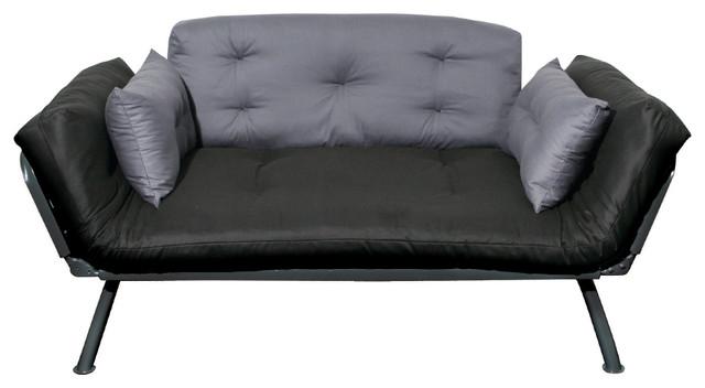mali flex  bo sofa lounger coal and pewter contemporary sofas american furniture alliance   mali flex  bo sofa lounger coal      rh   houzz