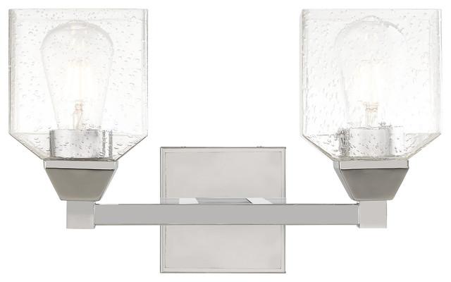 Livex Lighting Polished Chrome 2-Light Bath Vanity