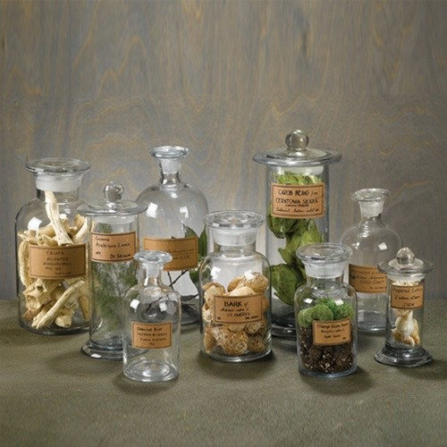 Glass Canisters For Bathroom. Glass Bathroom Jars Canisters   Tomthetrader com