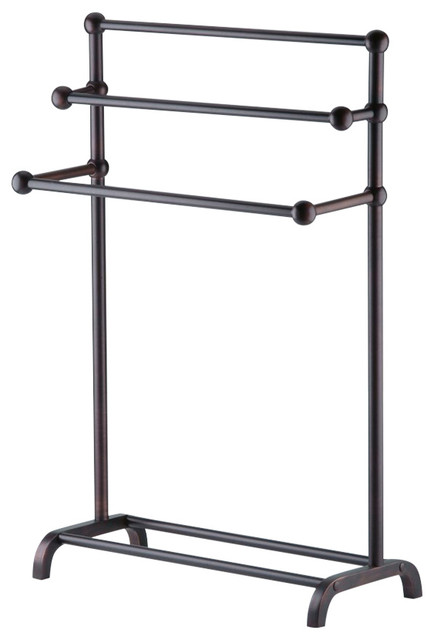 Maddox 3-Tier Valet - Transitional - Towel Racks & Stands - by Taymor