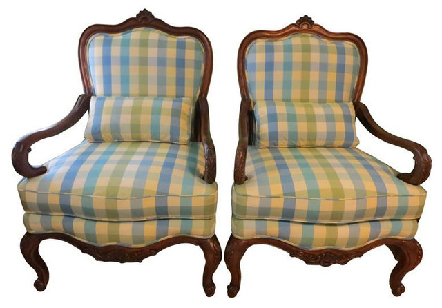 thomasville bergere chairs a pair est retail on chairish