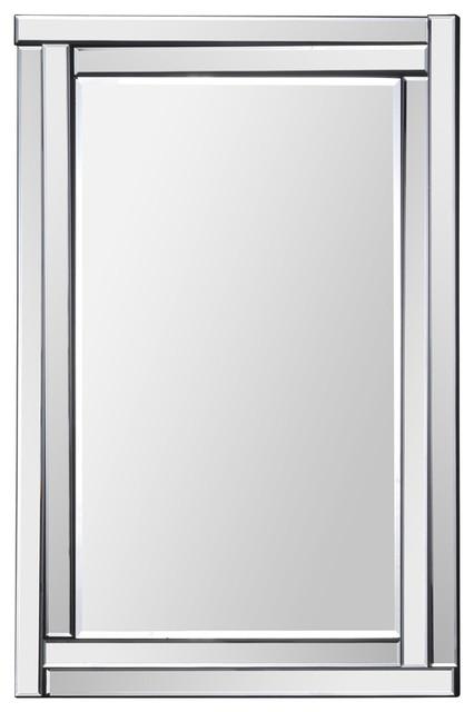 "Evaline Mirror, 24""x35"". -1"