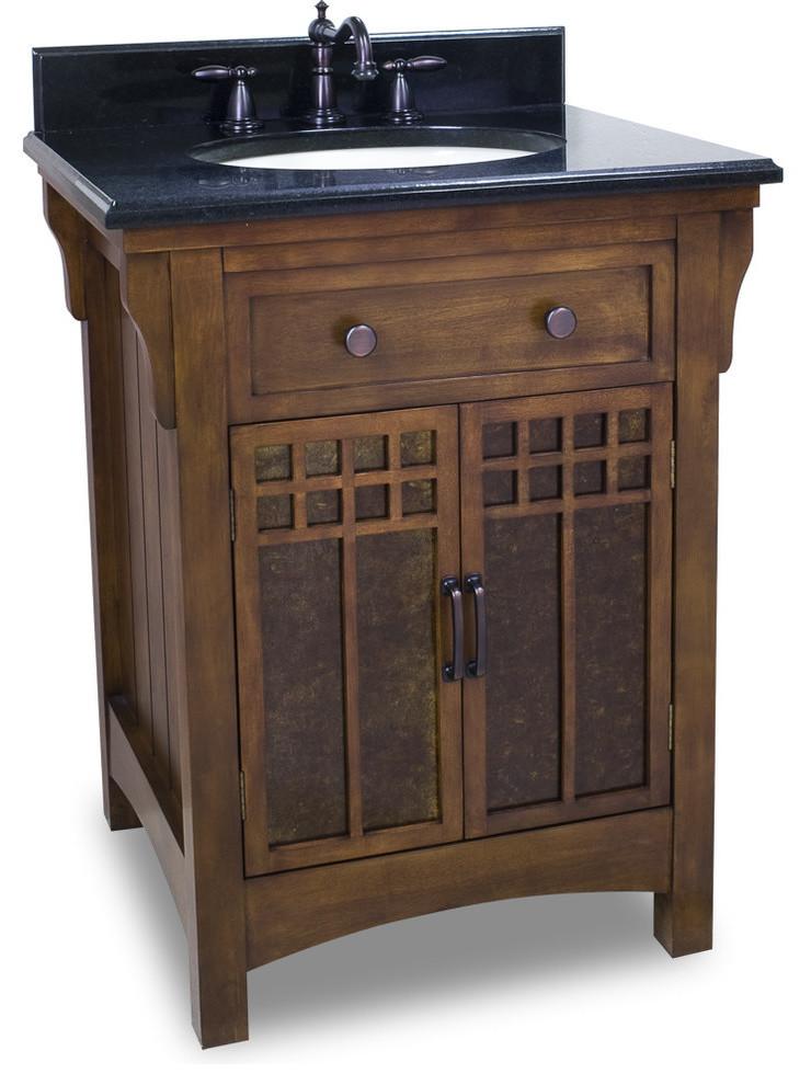 Westcott Wright Single Sink Vanity Set