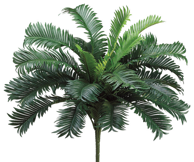 Silk Plants Direct Cycas Palm Plant, Pack of 6