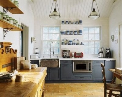 Modern Rustic Kitchen Gray how to add cottage charm to your kitchen