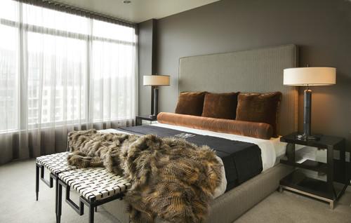 Modern Bedroom Design By Portland Interior Designer Faith Cosgrove