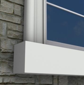MX218 - Exterior Window Sills on exterior column material, vinyl window material, exterior table top material, window caulking material, best exterior door material, vinyl screen material, exterior window capping material,