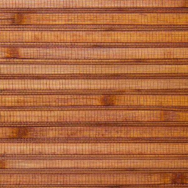 Bamboo Ochre Grass Cloth Wallpaper Sample