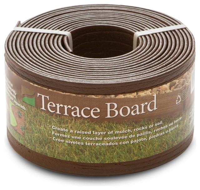 Terrace Board Edging, Brown