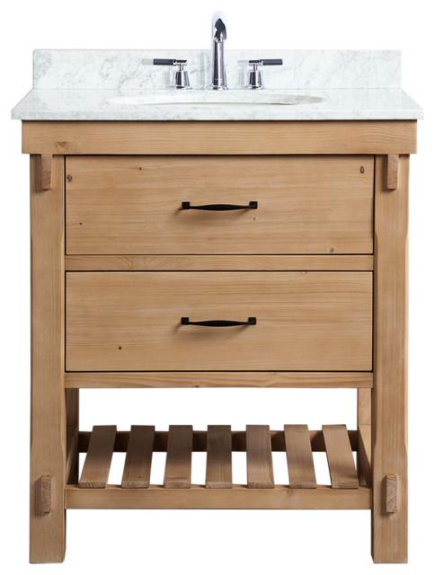 Marina 30 Bathroom Vanity Driftwood, Bathroom Vanities 30 Inch With Drawers