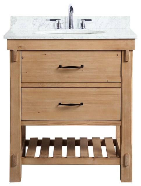 Bathroom Vanity Driftwood Finish